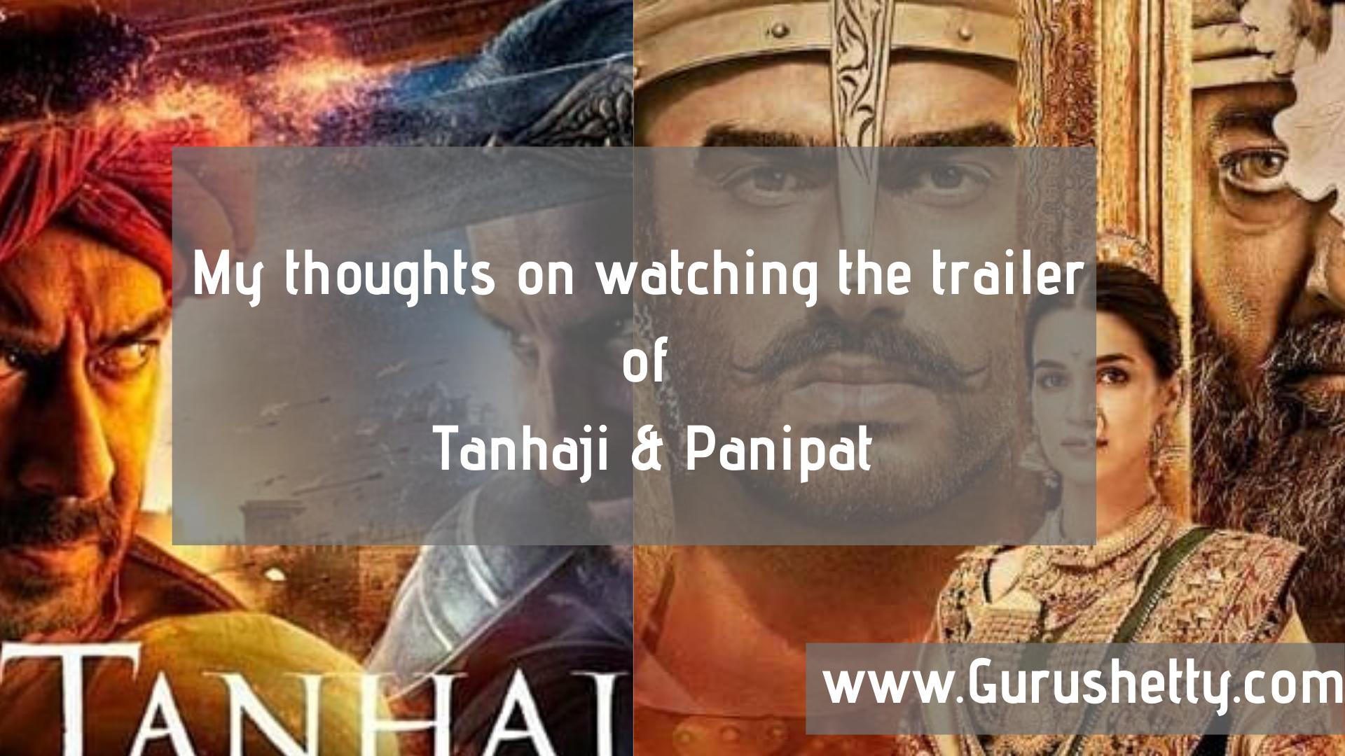 Lokmanyaekyugpurushmoviedownloadlink !FREE! My-Thoughts-on-watching-the-trailer-of-Tanhaji-Panipat